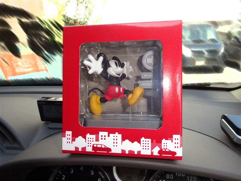 日産オリジナルフィギュアミッキーマウス