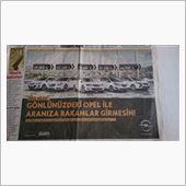 トルコの新聞に