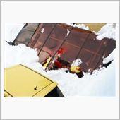 2014年2月15日、大雪被害状況。