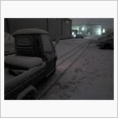 こんな雪でもノーマルタイヤで走れます