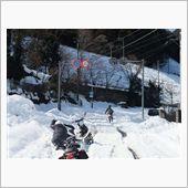 雪ぱねぇ…ここは本当にR299なのか?2/17(月)