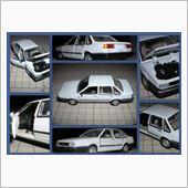 新入庫! 上海汽車公司製 VW SANTANA 1/43