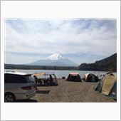 精進湖キャンプ