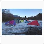 雪上キャンプで星撮り