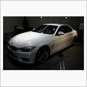爽やかな風を感じて、BMW・435iカブリオレのガラスコーティング【ラディアス湘南】