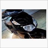ヨーロピアンデザイン、アプリリア スポーツシティキューブのガラスコーティング【ラディアス川崎】