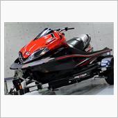 水上のモンスターマシーン Kawasaki ・ ULTRA300Xのガラスコーティング【リボルト佐賀