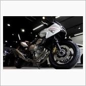 『イタリアホンダの魅力』Honda・CBF600Sのガラスコーティング【ラディアス湘南】