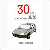 AX生誕30周年ポスター!