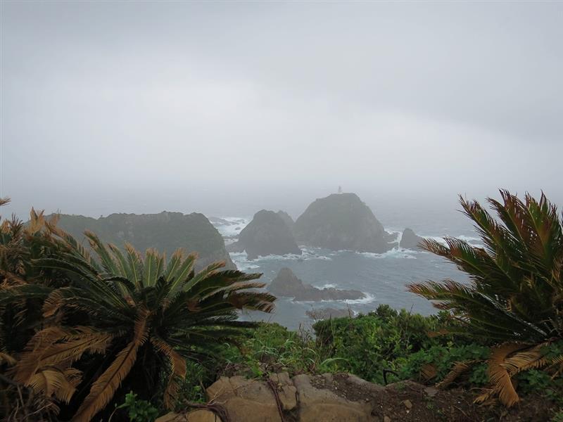 最南端 <br /> 岬からの景色<br /> <br /> 天気さえよければ・・・