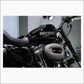 ハーレーダビッドソン ロードスター XL1200CXのガラスコーティング【リボルト神戸】