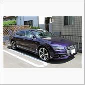 Audi S7 SportBack Velvet Purple