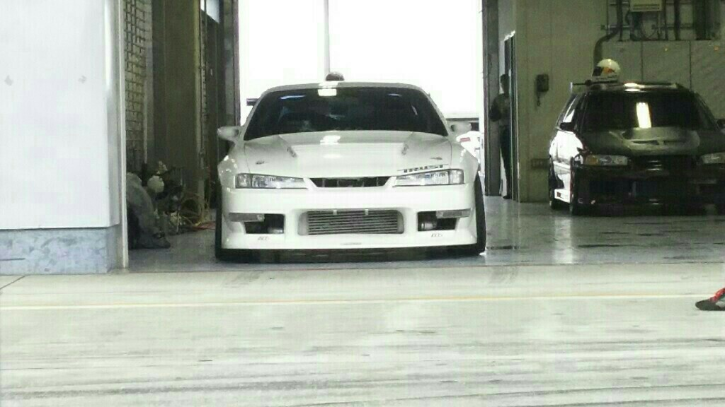 富士スピードウェイにて