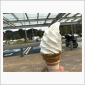 まかいの牧場のミルクを使ったソフトクリームがおいしそうだったので、ついつい買ってしまいましたがwww