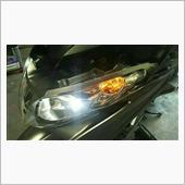 フロントウインカー…LED化~♪゛