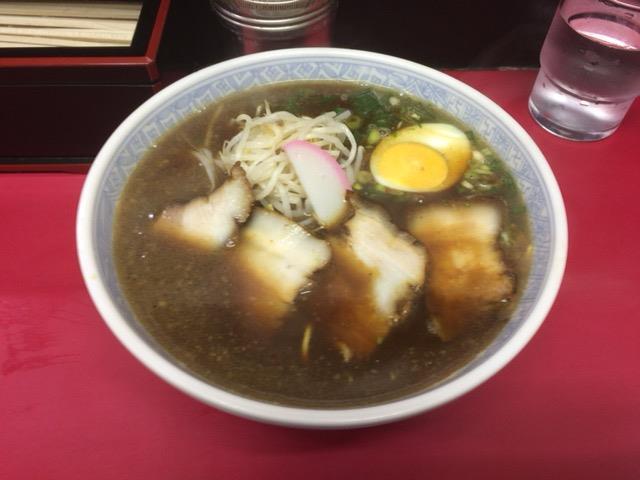 岡山倉敷の「中華そば 第二又一」特製そば(肉多め)<br /> ほんのり甘めの濃口醤油豚骨スープと玉子多めの細ストレート麺です。あずまの開店時間まで待てない時に食べに行くお店とさせて頂きます。