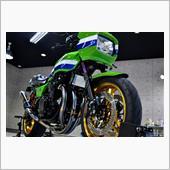 Kawasakiの優勝記念車 KawasakiZ1000Rのガラスコーティング【リボルト高崎】