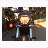 ブルバード400 ヘッドライトLED交換