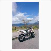 大観山で隠れ富士山と