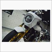 「より速く!研ぎ澄まされた日本刀」カワサキ Z1R-Ⅱ GT-Mのガラスコーティング【リボルト松本】