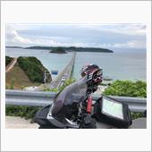 角島大橋にて