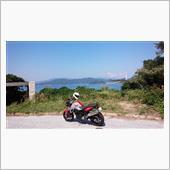 青い空と青い海