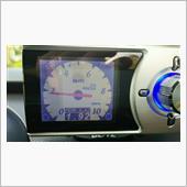 油圧のアナログ表示です。