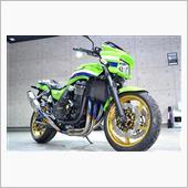 ビッグネイキッドとして愛されたZRXシリーズ Kawasaki・ZRX1200のガラスコーティング【