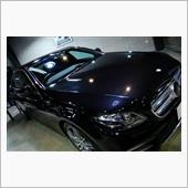 新時代の規範・メルセデスベンツ・E200のガラスコーティング【リボルト川崎】