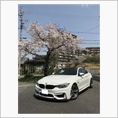 2018春_家の前の桜とM4