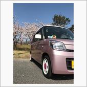 桜とスペちゃん♡