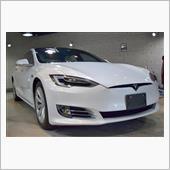 時代の先を行く電気自動車 テスラ・ModelSのガラスコーティング【リボルト高崎】