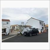 志摩地中海村という宿泊さきのホテルの前で