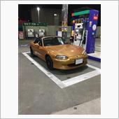 ガソリンスタンドで一枚