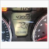 43000km