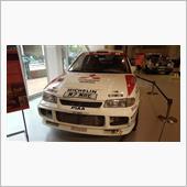 MEGWEB三菱ラリーカー特別展示
