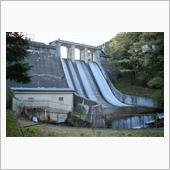 ダムの風景 岩倉ダム