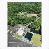 奥多摩湖の小河内ダム