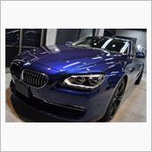 「美」BMW 640iのガラスコーティング【リボルト神戸】