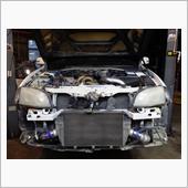 Mitsubishi Lancer Evo 9 intercooler adoption