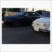 FIAT500Fとアルファ159