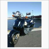 シャドウ 一時停止無視のバイクに突っ込まれる...