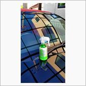 12月に子供に譲るために洗車