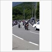 バイクの日イベント、やんちゃなバイクが大集合