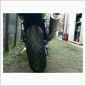 タイヤは太い方が格好いい❗  東南アジアではそうではないようですが。