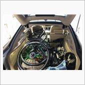 ロードバイク(2台)の積載