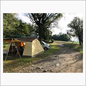 今年最後の西湖キャンプ