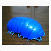 ¥500ガチャポン ダンゴムシ ブルー