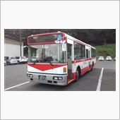 ミヤコーバス村田営業所の日産ディーゼルスペースランナーJP 2573号車