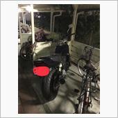 やっと先輩の所からバイクが帰って来た〜